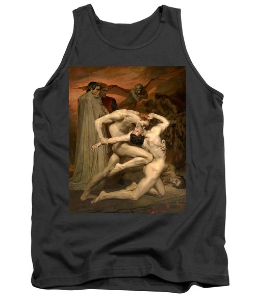 Dante And Virgil In Hell  Tank Top