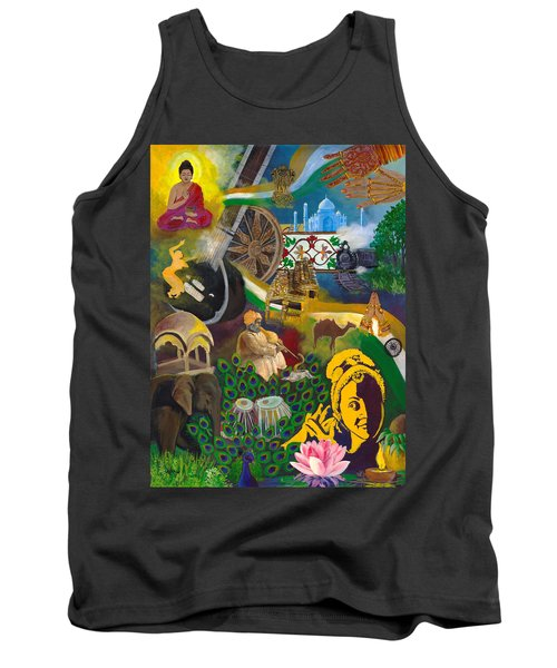 Discover India Tank Top