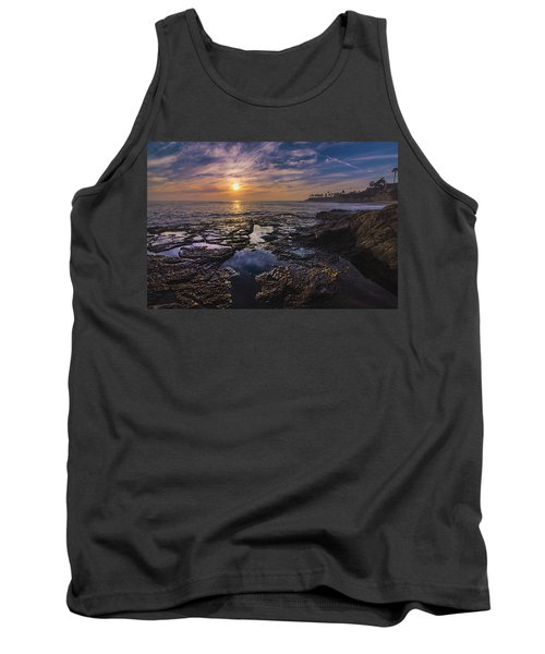 Diver's Cove Sunset Tank Top