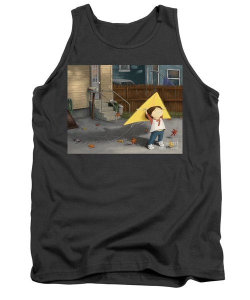 Don't Let Go Tank Top