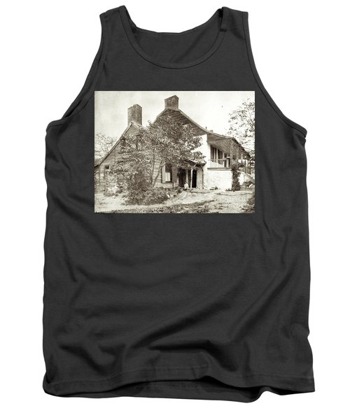 Tank Top featuring the photograph Dyckman House by Cole Thompson