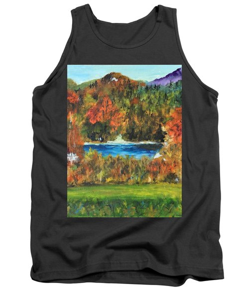 Fall In The Adirondacks Tank Top