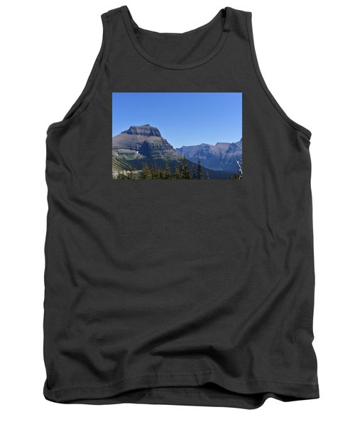 Tank Top featuring the photograph Fire Within Glacier National Park by Dacia Doroff
