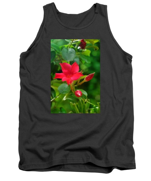 Tank Top featuring the photograph Flowers by Bernd Hau