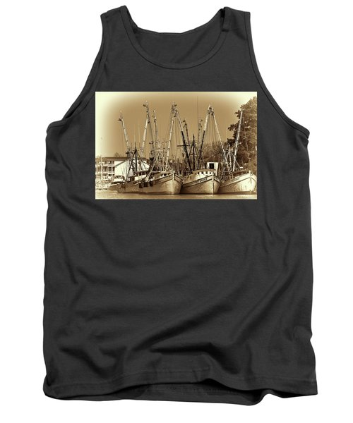 Georgetown Shrimpers Tank Top by Bill Barber