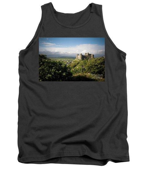 Harlech Castle, Snowdonia, Gwynedd, North Wales, Uk Tank Top
