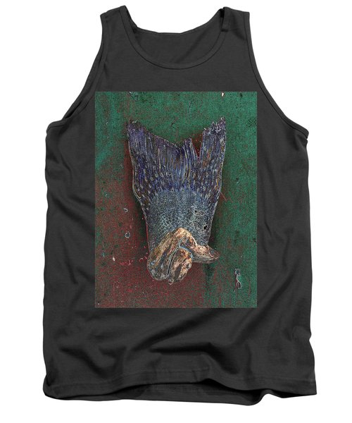 Her Dress Flew Up When She Crossed Her Legs. Tank Top