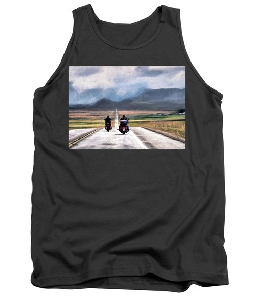 Tank Top featuring the photograph Roll Me Away by Jim Hill