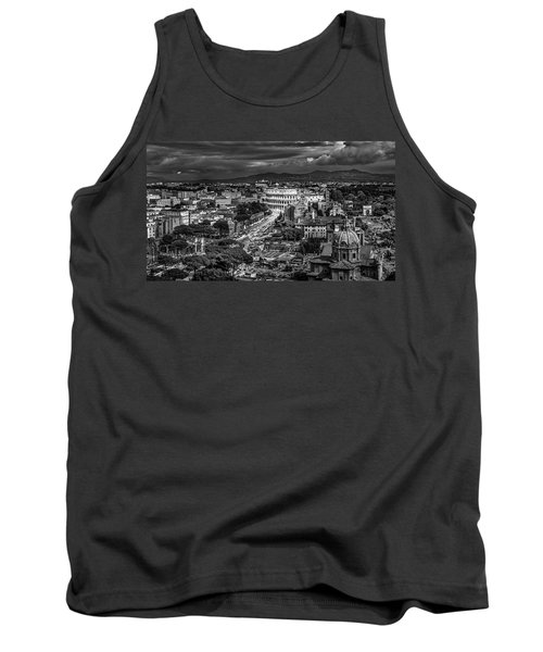 Il Colosseo Tank Top by Sonny Marcyan