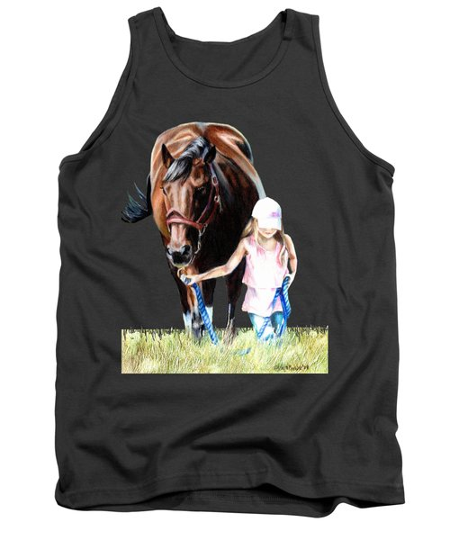 Just A Girl And Her Horse  Tank Top by Shana Rowe Jackson