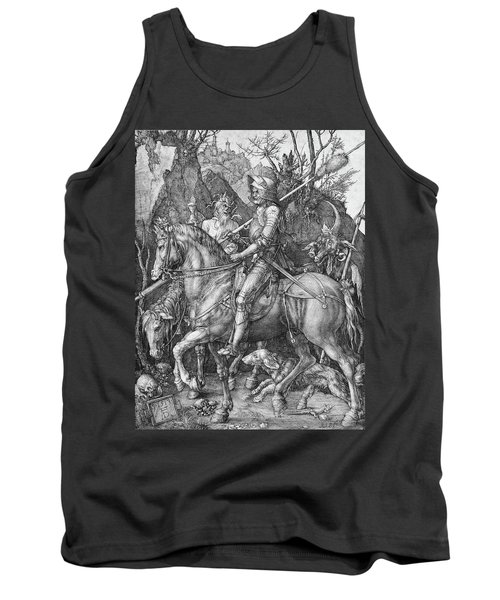 Knight Death And The Devil Tank Top