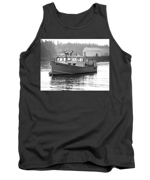 Lobster Boat Tank Top by Trace Kittrell