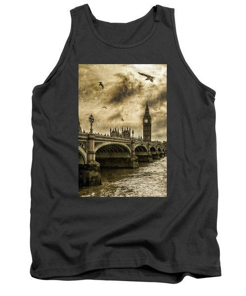 Tank Top featuring the photograph London by Jaroslaw Grudzinski