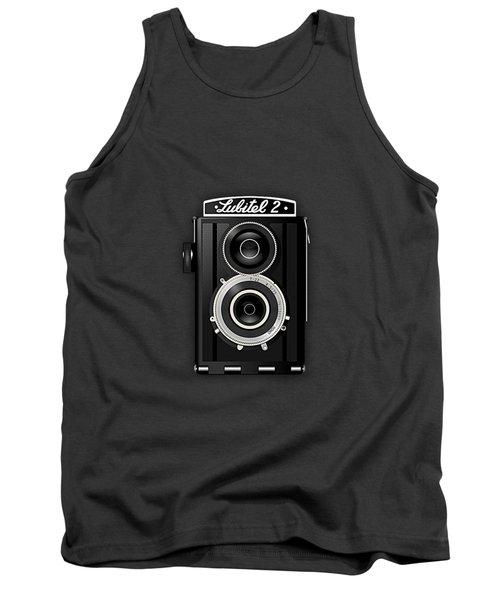Lubitel 2 Vintage Camera Collection Tank Top