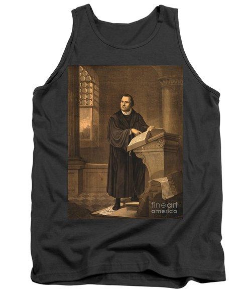 Martin Luther, German Theologian Tank Top
