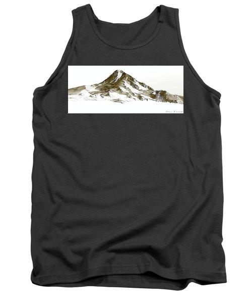 Mt. Hood Tank Top by Steve Warnstaff