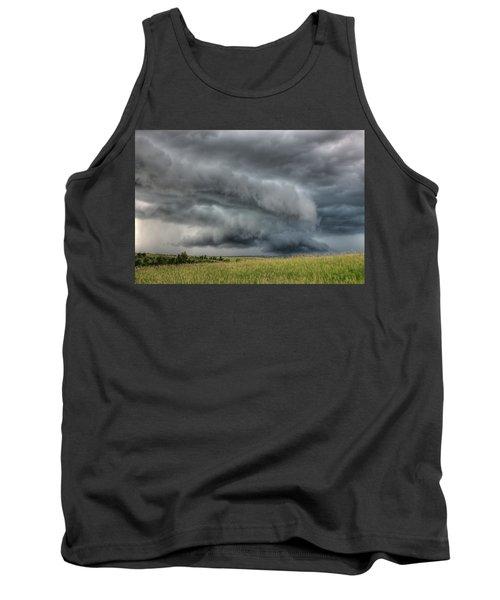 North Dakota Thunderstorm Tank Top