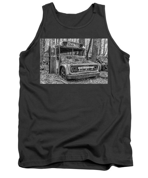 Old School Bus Tank Top