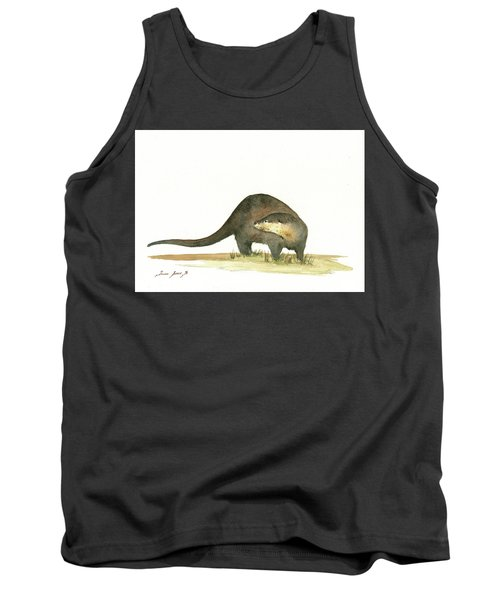 Otter Tank Top by Juan Bosco