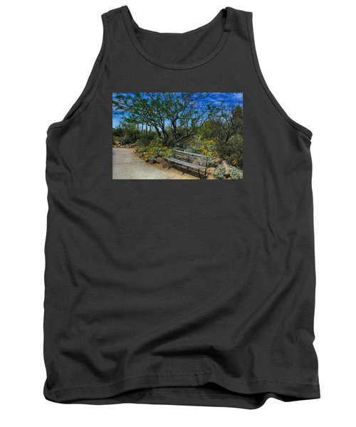 Peaceful Moment Tank Top by Elaine Malott
