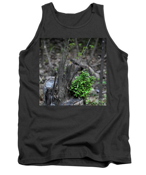 Tank Top featuring the photograph Persistence by Skip Willits
