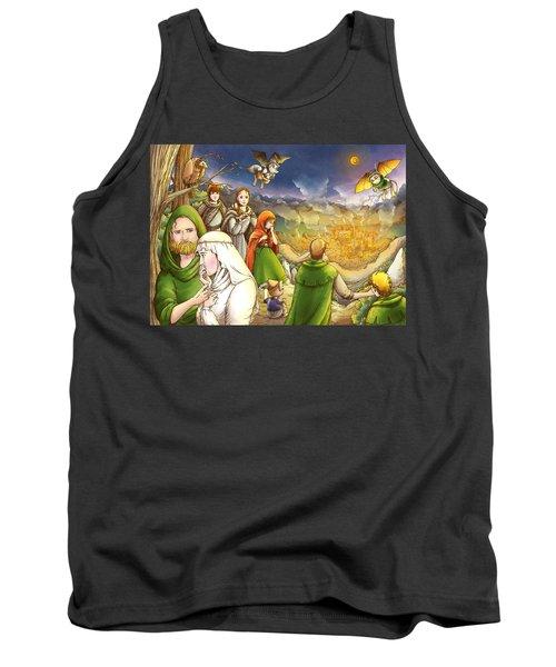 Robin Hood And Matilda Tank Top by Reynold Jay