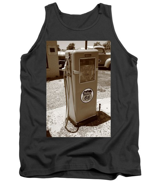 Route 66 Gas Pump Tank Top