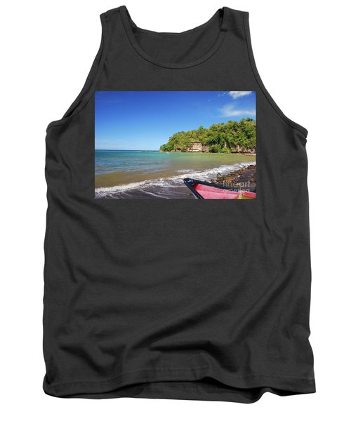 Tank Top featuring the photograph Saint Lucia by Gary Wonning