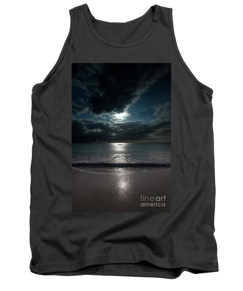 Sea And Clouds Tank Top