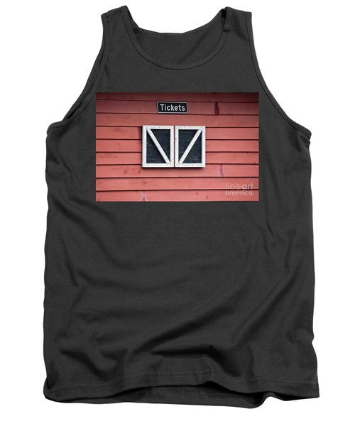 Season's Over Tank Top by Laurinda Bowling