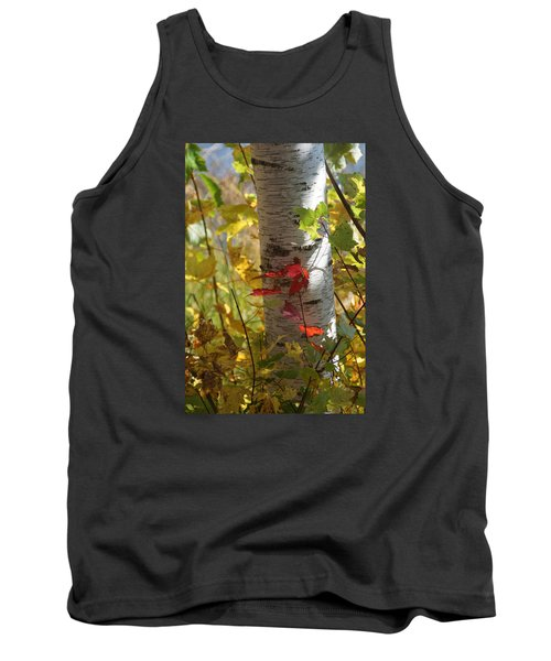 Tank Top featuring the photograph Seeing Red by Judy  Johnson