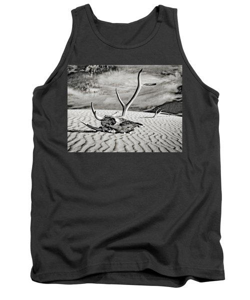 Skull And Antlers Tank Top
