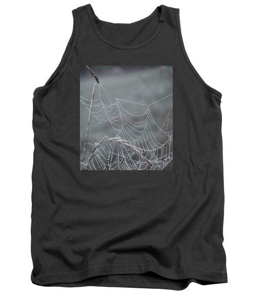 Spiderweb Droplets Tank Top by Nikki McInnes
