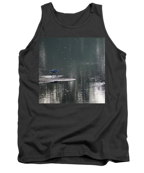 Tank Top featuring the photograph Stalker  by Skip Willits