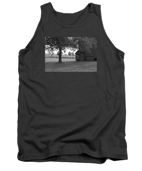 Tank Top featuring the photograph Stone House by Heidi Poulin