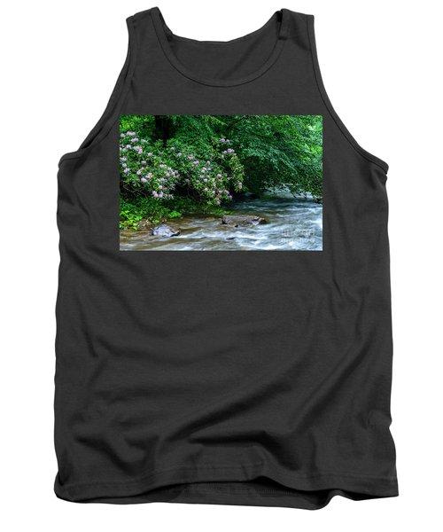 Summer Along Birch River Tank Top
