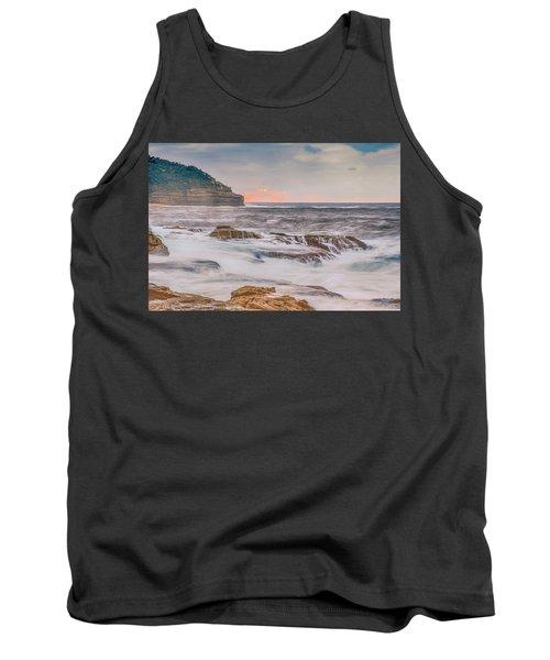 Sunrise Seascape And Headland Tank Top