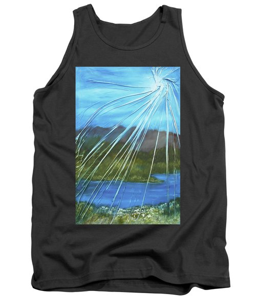 Sunshine Over Boise Tank Top by Angela Stout