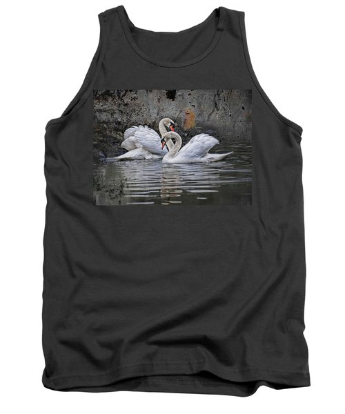 Tango Of The Swans Tank Top