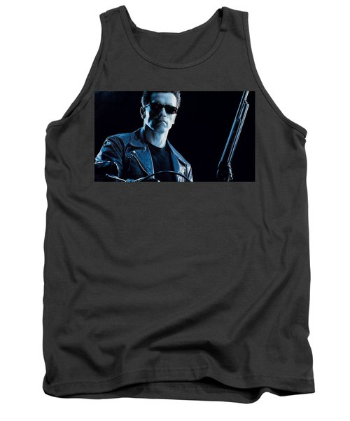 Terminator 2 Judgment Day Tank Top