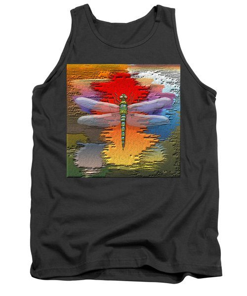 The Legend Of Emperor Dragonfly Tank Top