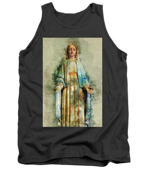 The Virgin Mary Tank Top