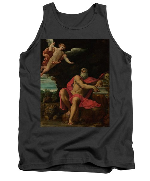 The Vision Of Saint Jerome Tank Top
