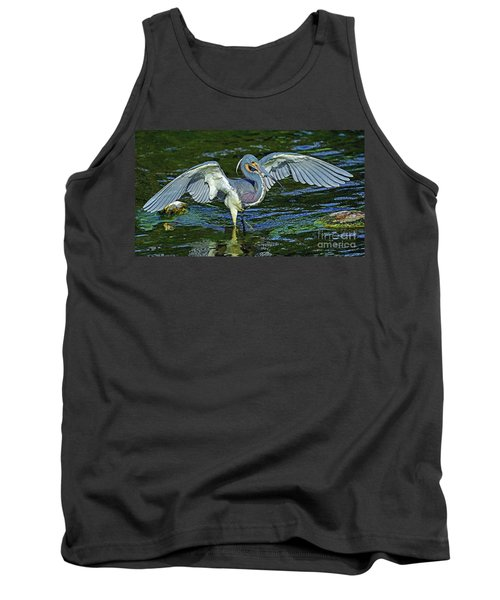 Tricolor Hunting Tank Top