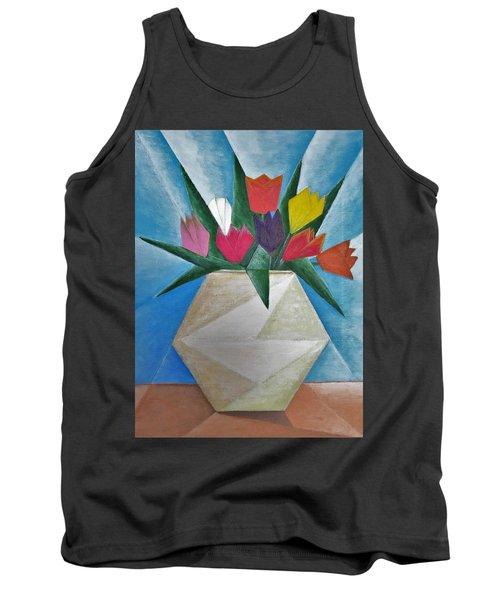 Tulips Tank Top by Tamara Savchenko