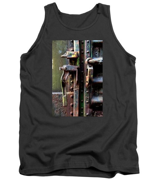 Tank Top featuring the photograph Unhinged by Newel Hunter