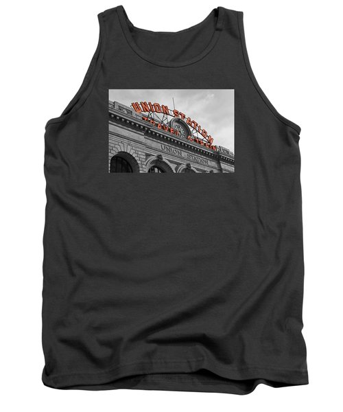 Union Station - Denver  Tank Top by Mountain Dreams