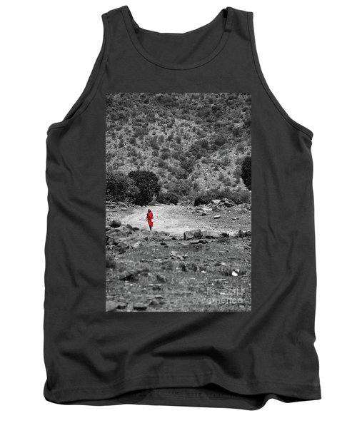 Tank Top featuring the photograph Walk  by Charuhas Images