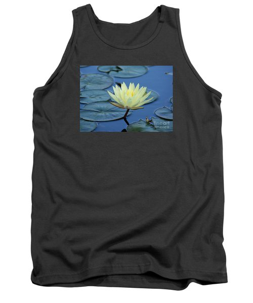 Tank Top featuring the photograph Water Lily by Lisa L Silva