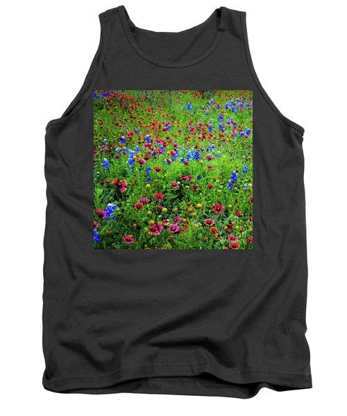 Wildflowers In Bloom Tank Top